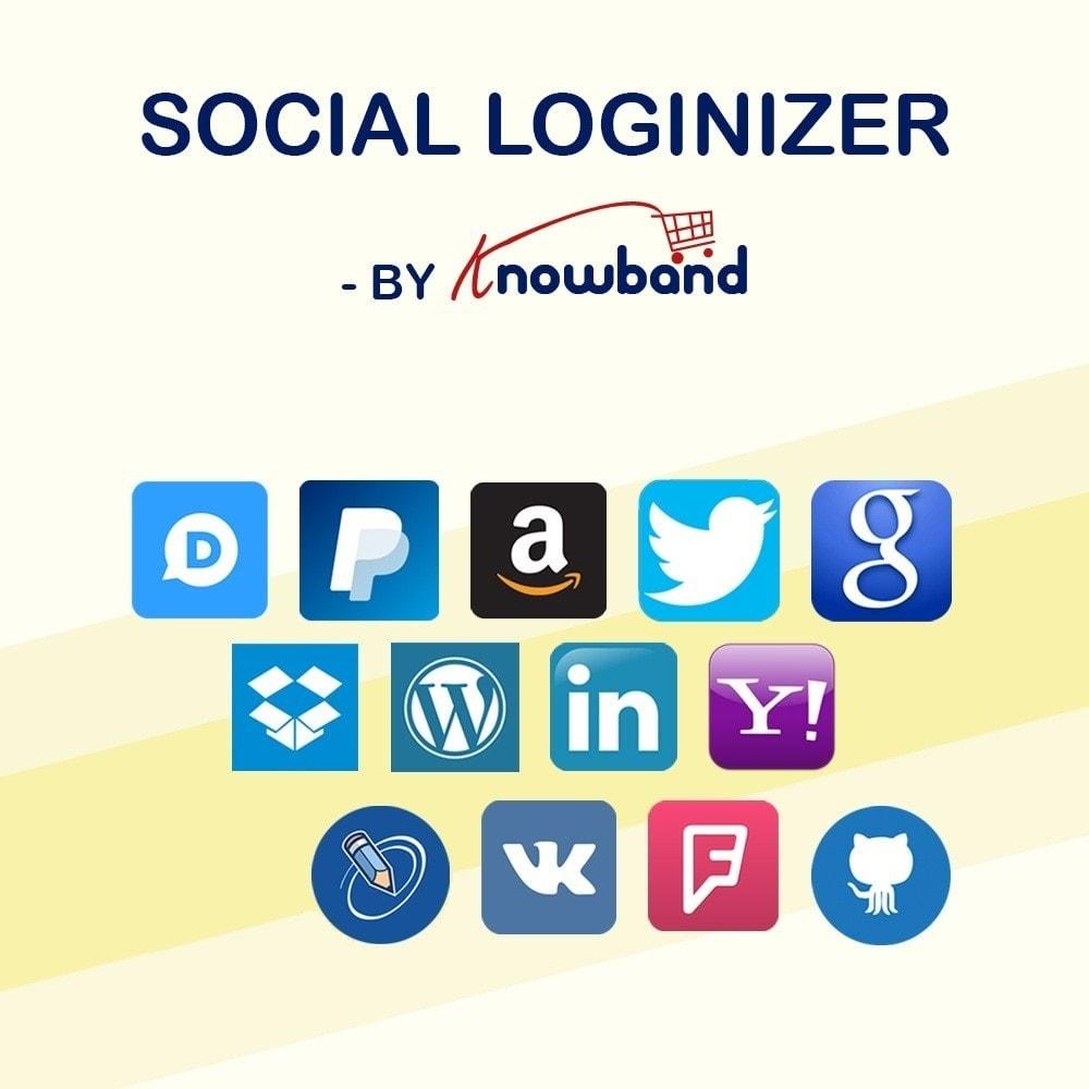 Prestashop social loginizer