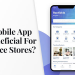 How is mobile app builder beneficial for e-commerce stores