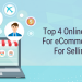 Top 4 online marketplaces for eCommerce merchants for selling products