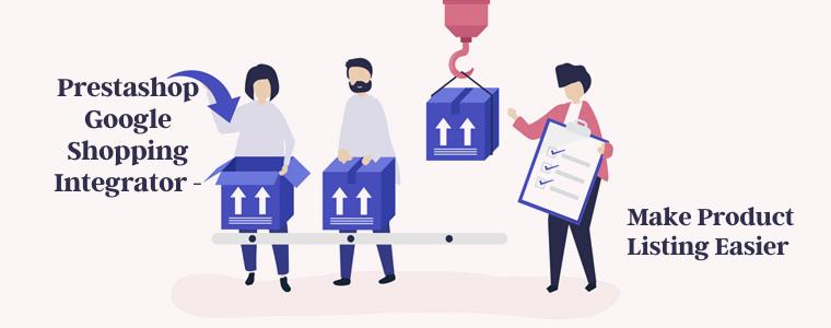 Prestashop Google shopping Integrator - Make product listing easier
