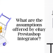What are the assumptions offered by eBay Prestashop Integrator?